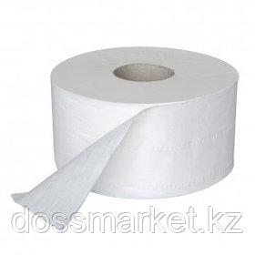 Туалетная бумага рулонная OfficeClean Professional, 170 метров, 2-х слойная, белая