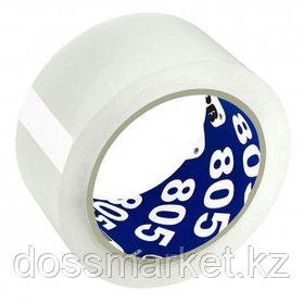 Упаковочная клейкая лента Unibob, ширина ленты 50 мм, длина намотки 66 м, толщина 50 мкм