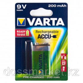Аккумулятор Varta R2U крона 9V, HR9V, 9 V, Ni-MH, цена за штуку
