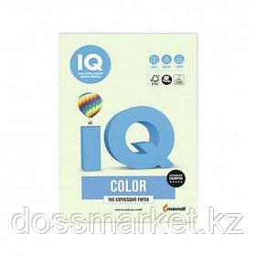 Бумага IQ Color Pale, А4, 160 г/м2, 250 листов, светло-зеленая