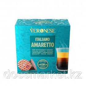 """Кофе в капсулах Veronese """"Amaretto"""" для кофемашин Dolce Gusto, 10 капсул"""