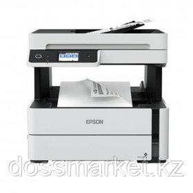 МФУ струйное монохромное Epson M3170, А4, 1200*2400, 39 стр/мин, факс, USB, АПД, Wi-Fi