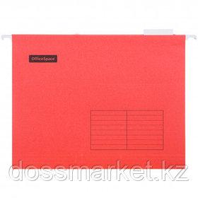 Папка подвесная OfficeSpace, А4 формат, красная