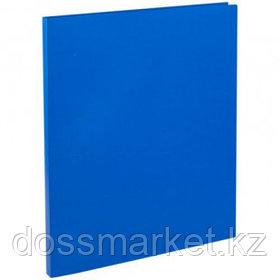 Папка OfficeSpace с зажимом, А4 формат, корешок 15 мм, синяя