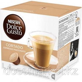 Кофе в капсулах Nescafe Dolce Gusto, Cortado Espresso Macchiato, 16 капсул
