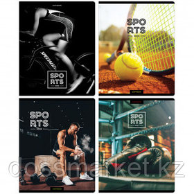 "Тетрадь ArtSpace ""Спорт. Inside sports"" А5, 96 листов, в клетку, на скобе"