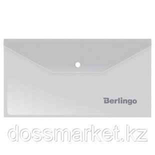 Папка-конверт с кнопкой Berlingo, С6, 180 мкм, матовая