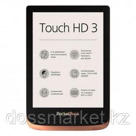 Электронная книга PocketBook Touch HD 3, коричневая