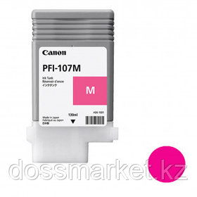 Тонер оригинальный Canon PFI-107M для imagePROGRAF-iPF670/680/685/770/780/785, пурпурный, 130 мл