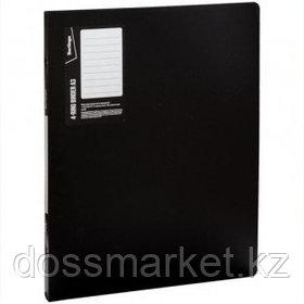 """Папка Berlingo """"Standard"""", А3 формат, на 4 кольцах, вертикальная, корешок 27 мм, черная"""