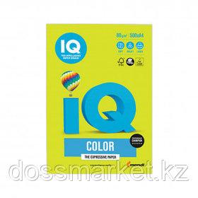 Бумага IQ Color Neon, А4, 80 г/м2, 500 листов, зеленый неон