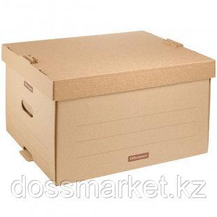 """Архивный короб OfficeSpace """"Универсальный"""",  265*340*440 мм, с крышкой"""