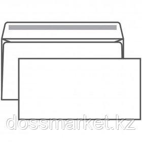 Конверт горизонтальный Ряжская печатная фабрика, формат Е65 (110*220 мм), белый, клеевой край