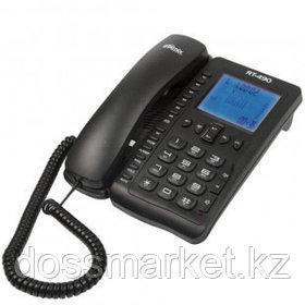 """Телефон проводной Ritmix """"RT-490"""", черный"""