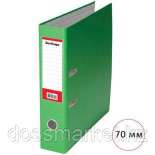 Папка-регистратор Berlingo, А4, ширина корешка 70 мм, салатовая