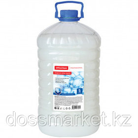 """Жидкое крем-мыло OfficeClean Professional """"Антибактериальное"""" белое, 5 л"""