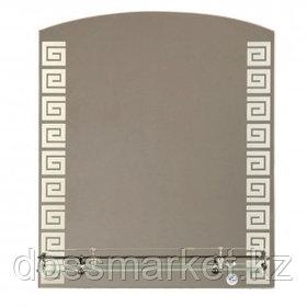 """Зеркало Континент """"Гермес"""", размер 535*620 мм, с полочкой"""