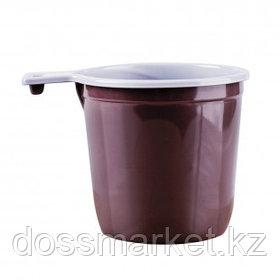 Чашка кофейная одноразовая OfficeClean, 200 мл, 50 шт./уп, бело-коричневые, цена за упаковку