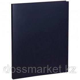 Папка OfficeSpace с зажимом, А4 формат, корешок 15 мм, черная