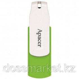 """USB-флешка 16 Gb, Apacer """"AH335"""", USB 2.0, зеленая"""