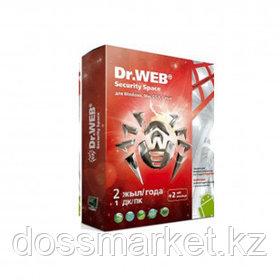 Антивирус Dr.Web Security Space SILVER, 1 устройство, подписка на 2 года