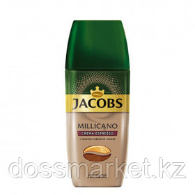 Кофе растворимый Jacobs Millicano Crema Espresso, 95 гр, стеклянная банка