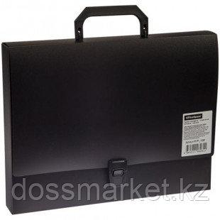 Папка-портфель OfficeSpace, А4 формата, 1 отделение, черный