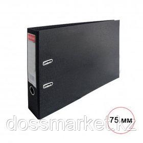 Папка-регистратор Eisear, А3, ширина корешка 75 мм, черная