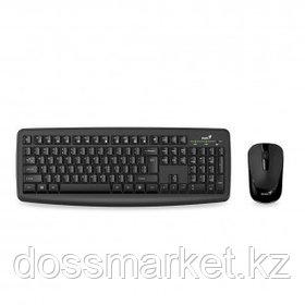Беспроводной набор Genius Smart KM-8100, клавиатура и оптическая мышь, черный