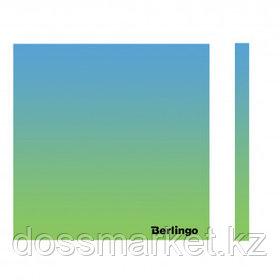 """Блок самоклеящийся 75*75 мм, Berlingo """"Ultra Sticky. Radiance"""", градиент, голубой/зеленый, 50 листов"""