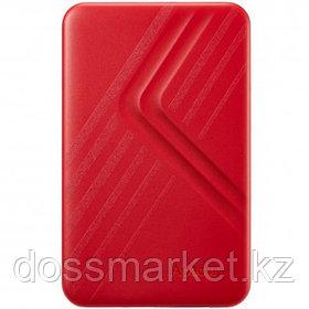 """Жесткий диск 1 TB, Apacer AC236, 2.5"""", USB 3.1, HDD, красный"""