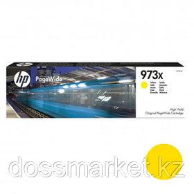 Картридж оригинальный HP 973X (F6T83AE) для PageWide Pro 477/452, желтый