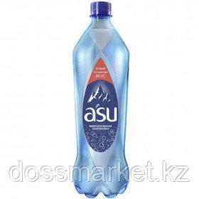 """Вода газированная питьевая """"ASU"""", 1 л"""