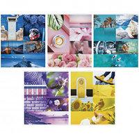 """Тетрадь ArtSpace """"Стиль. Colourful collage"""" А5, 48 листов, в клетку, на скрепке"""