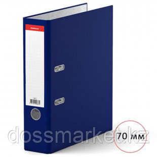 Папка-регистратор Erich Krause, А4, ширина корешка 70 мм, синяя