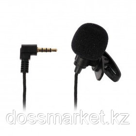 Микрофон петличный Ritmix RCM-102, 1,2 м, черный