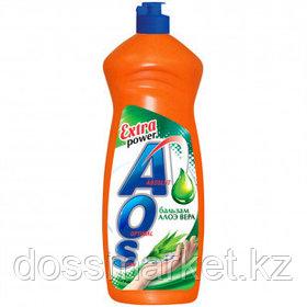 "Средство для мытья посуды AOS""Бальзам Алоэ вера"", 900 мл"