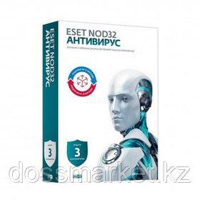 Антивирус Eset NOD32, 3 устройства, подписка на 12 месяцев или продление на 20 месяцев, Box