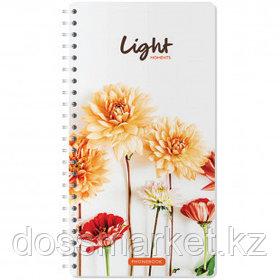 """Телефонная книга OfficeSpace """"Цветы. Light moments"""", А5, 80 листов, на гребне"""