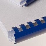 6 мм. Синие пружины для переплета, для сшивания до 25 листов, фото 2
