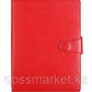 Ежедневник недатированный Misterio, А5, 176 л, красный