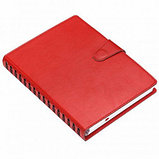 Ежедневник недатированный Misterio, А5, 176 л, красный, фото 2