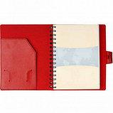 Ежедневник недатированный Misterio, А5, 176 л, красный, фото 3