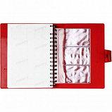 Ежедневник недатированный Misterio, А5, 176 л, красный, фото 4