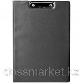 Папка-планшет Berlingo, А4, с верхним прижимом и крышкой, черный