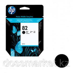 Картридж оригинальный HP CH565A № 82 для Designjet 111/500, черный