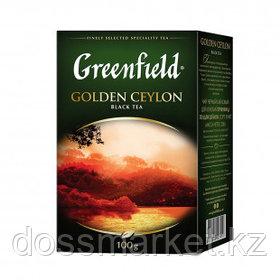 Чай Greenfield Golden Ceylon, черный, 100 гр, листовой