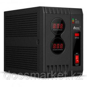 Стабилизатор SVC AVR-600, 600ВА(600Вт), черный