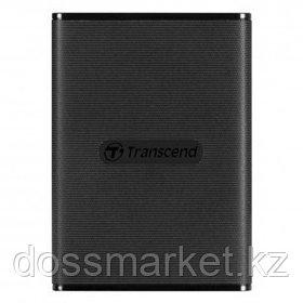 """Жесткий диск 240 GB, Transcend ESD230C, 2,5"""", USB 3.1, SSD, черный"""