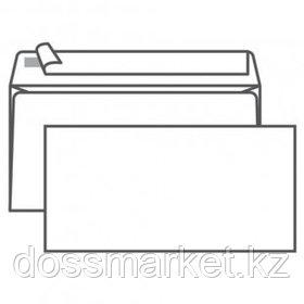 Конверт горизонтальный KurtStrip, формат Е65 (110*220 мм), белый, отрывная лента